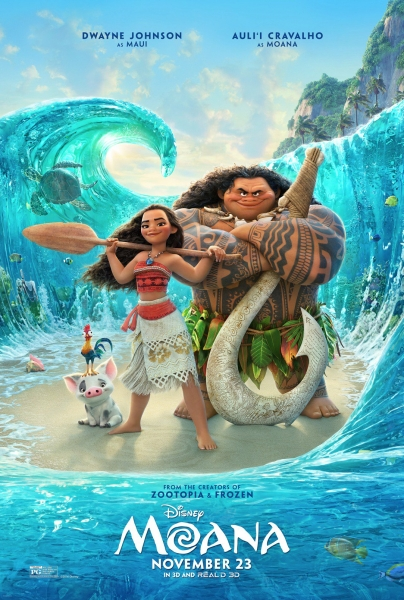 Official Moana movie poster