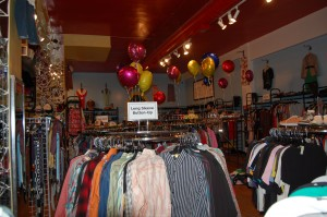The interior of Avalon Exchange, formerly Rag-O-Rama, has not changed significantly since the store changed owners in May. (Madeline Fleming)