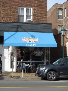 Snarf's sub shop serves sandwiches and other lunch items. The fresh bread, variety of sandwiches, and reasonable prices make Snarf's an appealing lunchtime option. (Staff Photo)