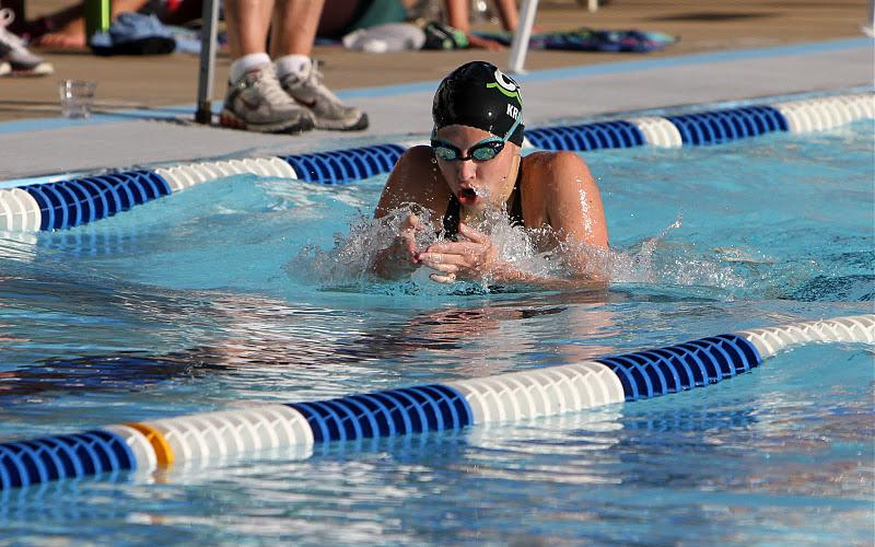 Ever since her childhood, Elizabeth Krane has been a competitive swimmer on the Clayton Shaw Park Swim Team. (Peter Krane)