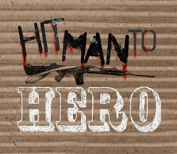 """Hitman to Hero"" logo"