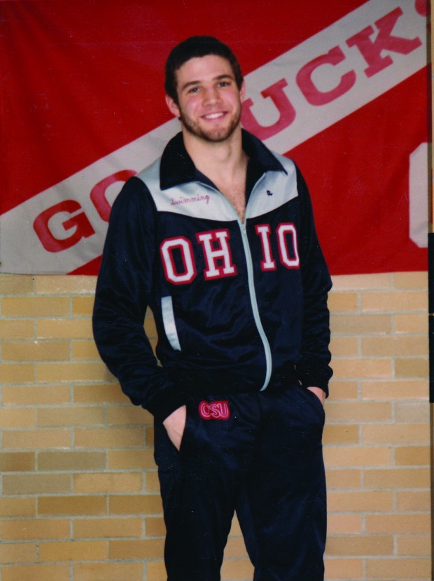 Kohmetscher in his Ohio State days. (All photos from teachers).