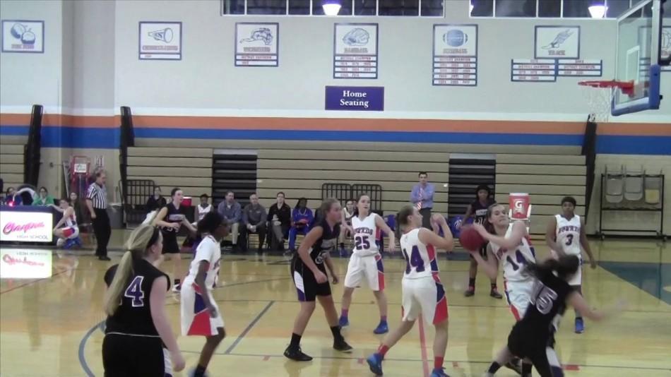 WATCH: GIRLS' BASKETBALL DEFEATS BRENTWOOD