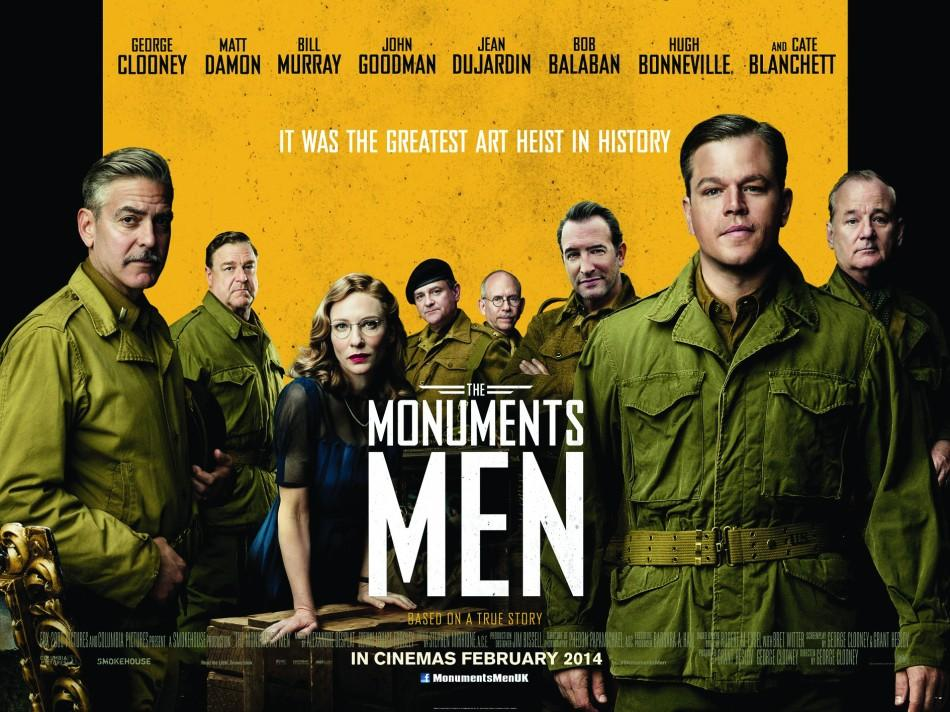 The Monuments Men (Official Movie Poster).