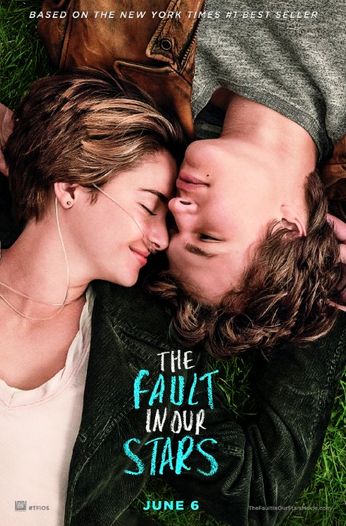 Official movie poster for A Fault in Our Stars.
