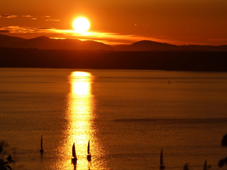 Featured Photo: Sailboats at Sunset