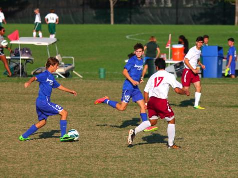 Varsity Soccer Wins Against MICDS