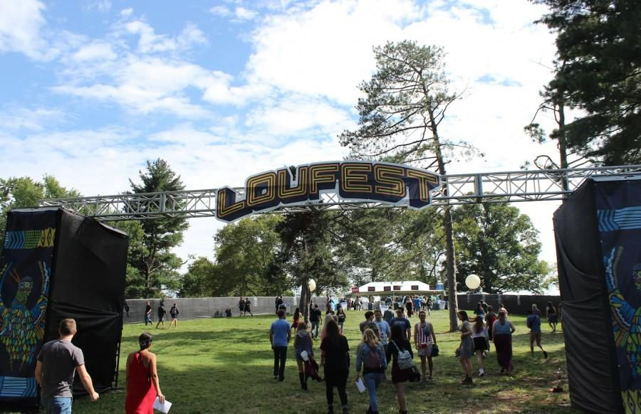 Entrance to Loufest