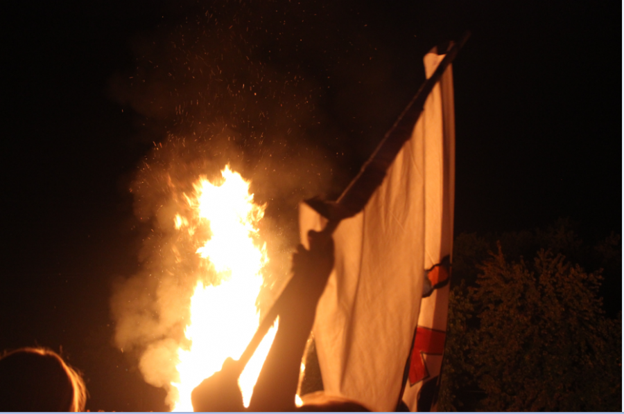 Featured Photo: Homecoming Bonfire