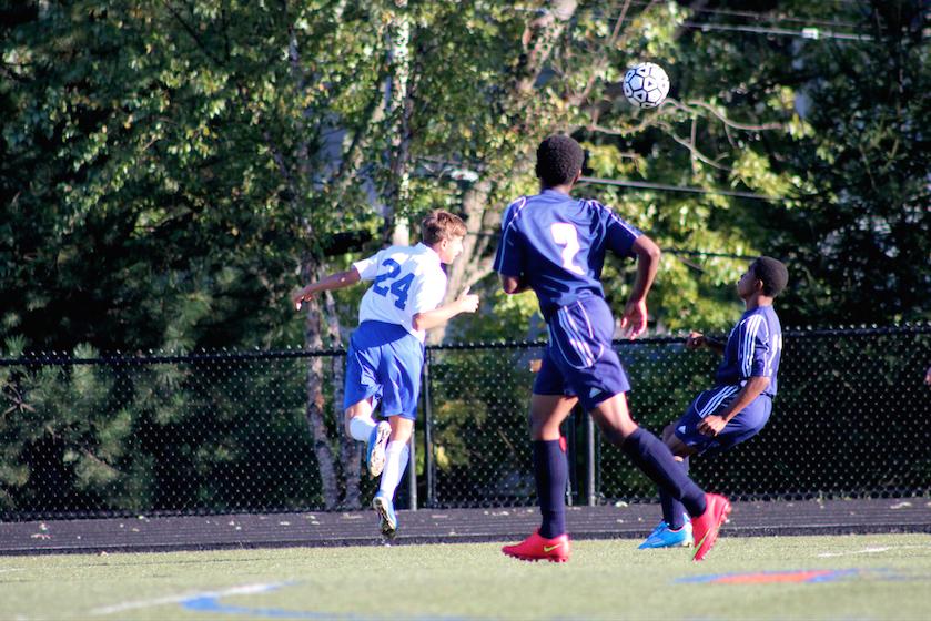 JV Soccer dominates Mcluer High