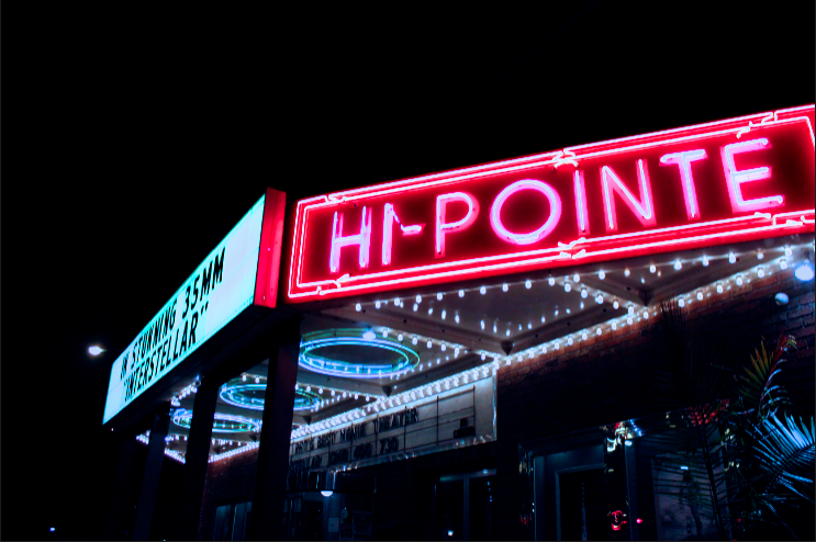The Hi-Pointe Theatre, since its opening in 1922, has been most notably known for its showings of great classics and film festival submissions.