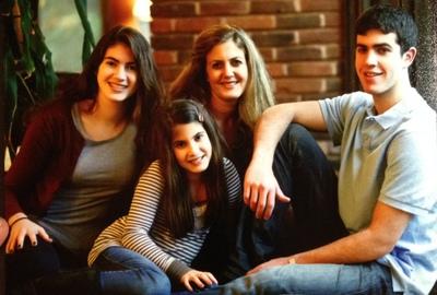 The Joseph family. Left to right: Meredith, Olivia, Ilene and Ethan. (photo from Olivia Joseph)