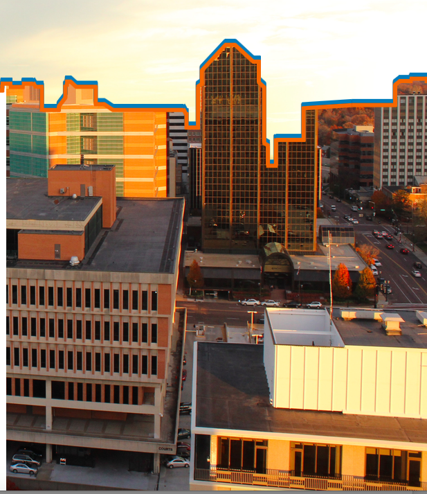 Photo of Clayton skyline by Olivia MacDougal