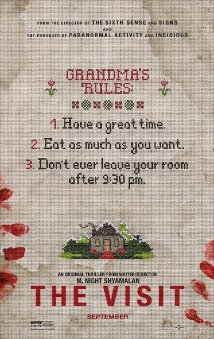 Promotional poster for the movie, The Visit, taken from IMDb.