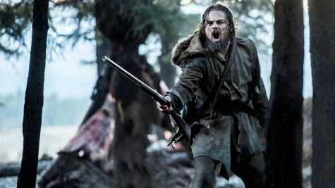 "Leonardo Dicaprio in ""The Revenant"" (Kimberly French)."