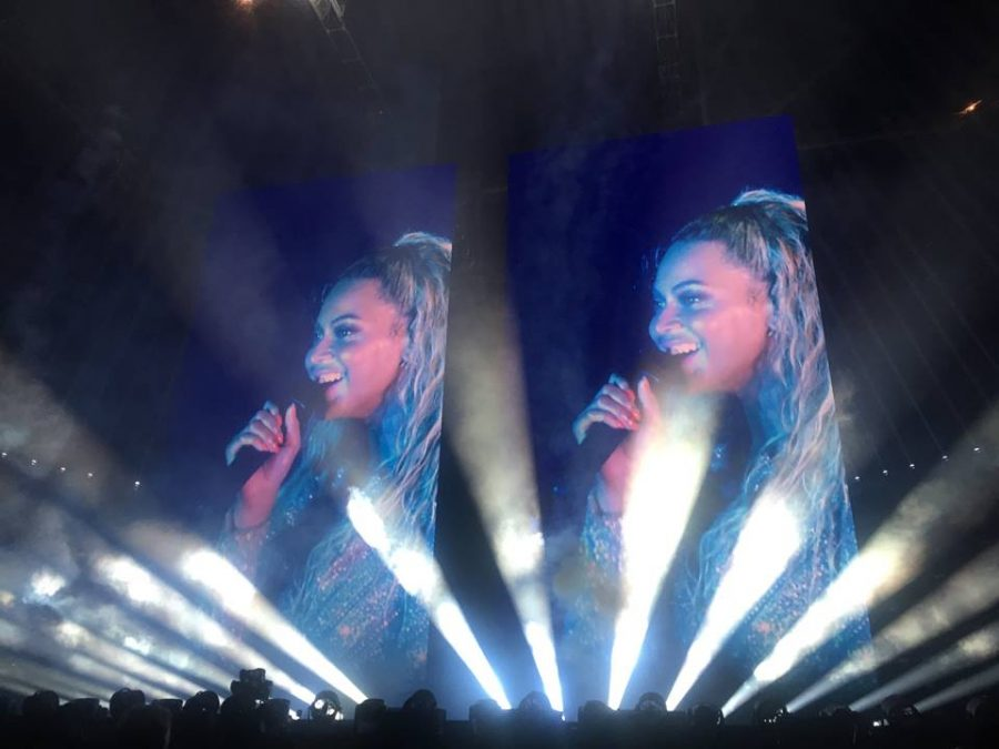 Beyonce's Formation World Tour in St. Louis'  America's Center.