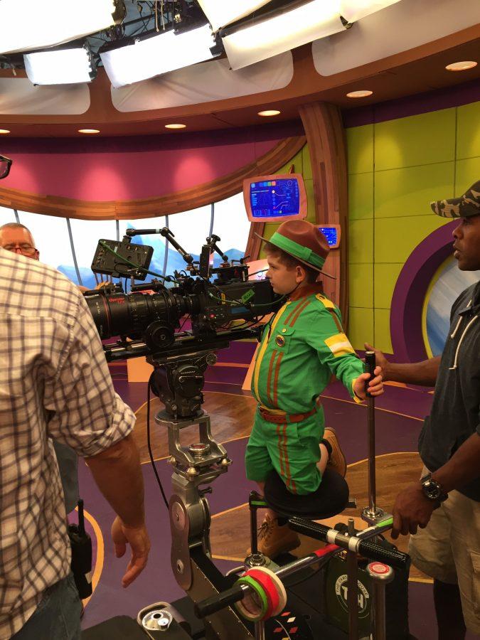 Charlie's TV Debut