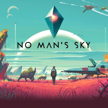 Official game cover for No Man's Sky