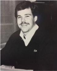 Mike Musick, who was an administrator in the District during desegregation. Photo from 1988 Claymo Yearbook.