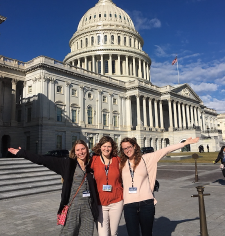 CHS seniors at Capitol Hill.  (Photo from Maddy Vaughn).