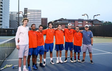 CHS Boys Varsity Tennis Team Wins Sectionals Tournament