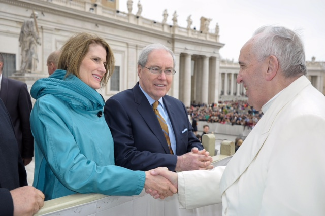 Ambassador+O%27Malley+meets+with+Pope+Francis