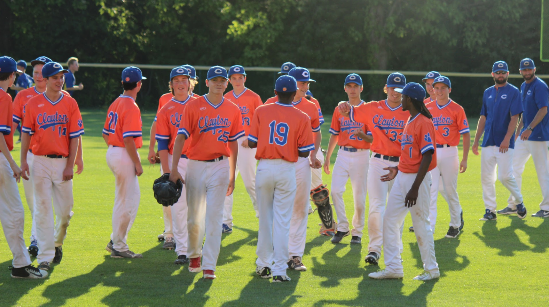 Photo of the CHS Varsity Baseball team by Katherine Sleckman.