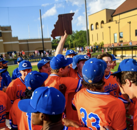 CHS Varsity Baseball Upsets Defending State-Champ MICDS in District Championship