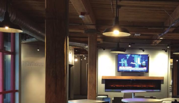 The relaxed environment of T-Rex, a start-up company in downtown St. Louis.