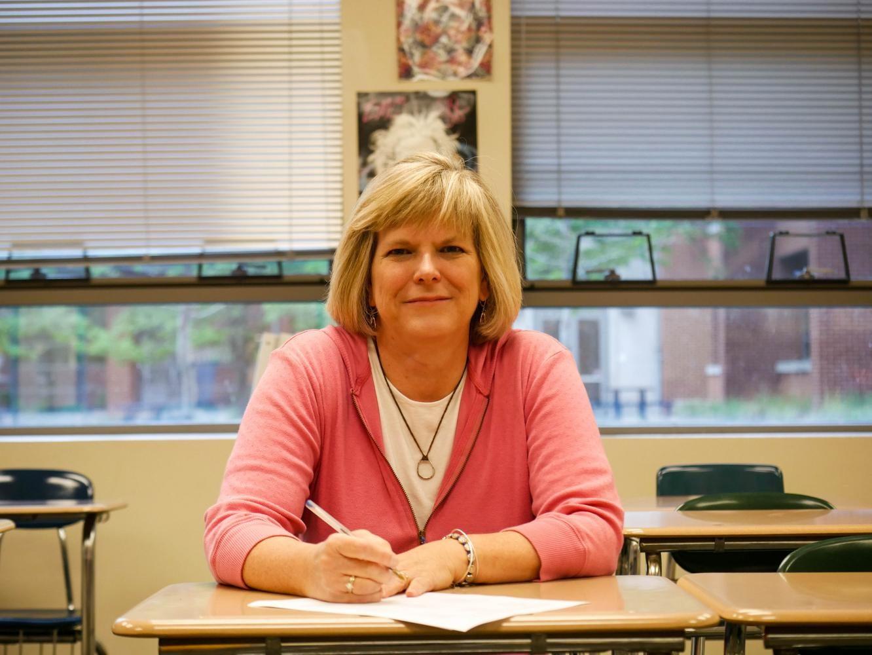 Heidi Shephard in her classroom