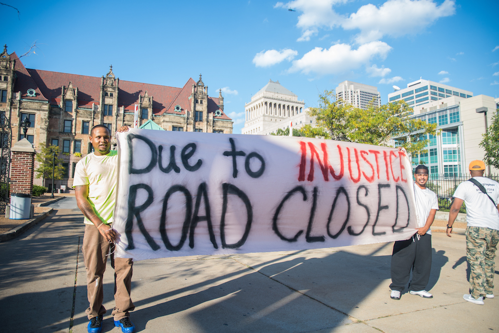 Featured Photos: St. Louis Sees First Day of Protest After Ex-Cop's Aquittal