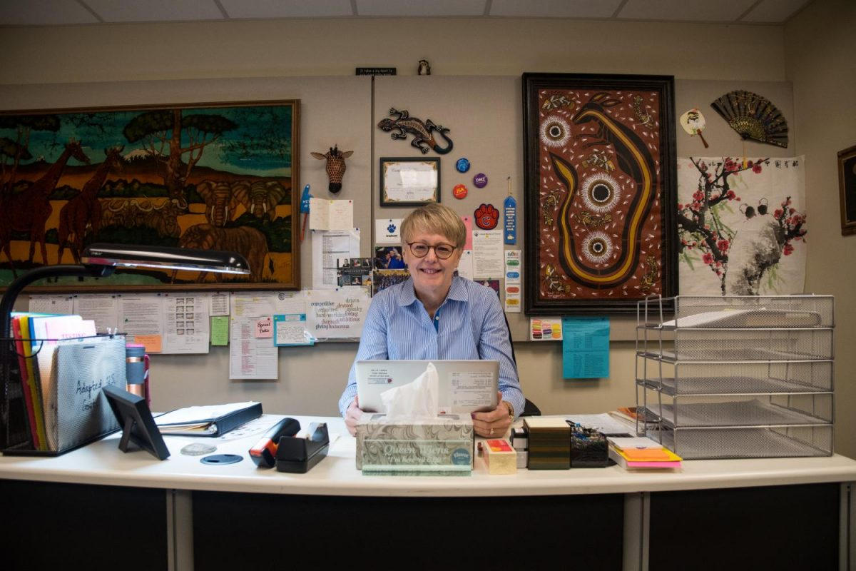 Photo+of+Debra+Wiens%2C+who+used+to+be+a+history+teacher+at+CHS%2C+by+Michael+Melinger.