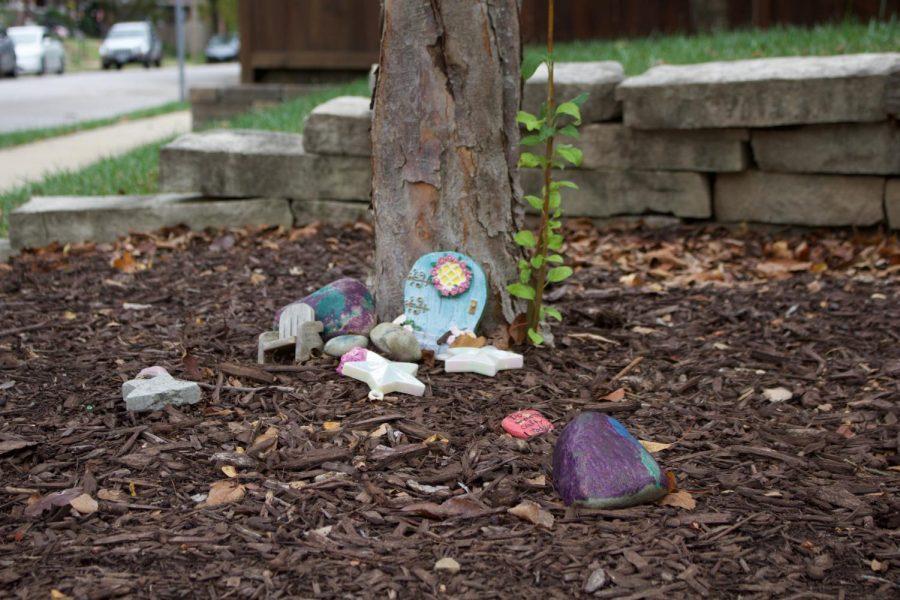 Photo of a fairy garden.