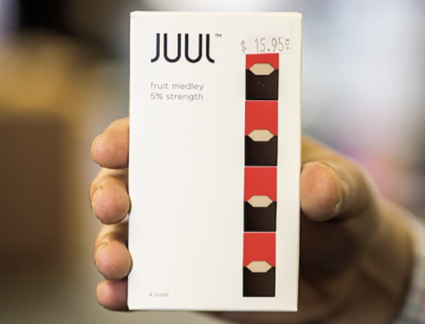 Photo of a JUUL.