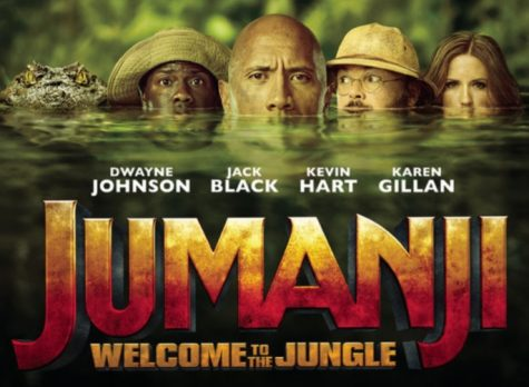 Jumanji official movie poster.