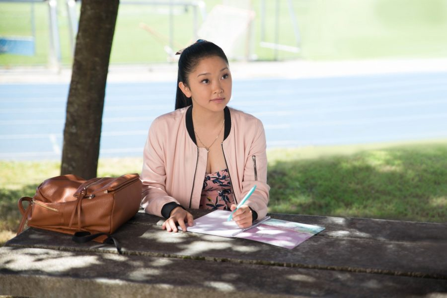 Lana Condor in the Netflix original film,