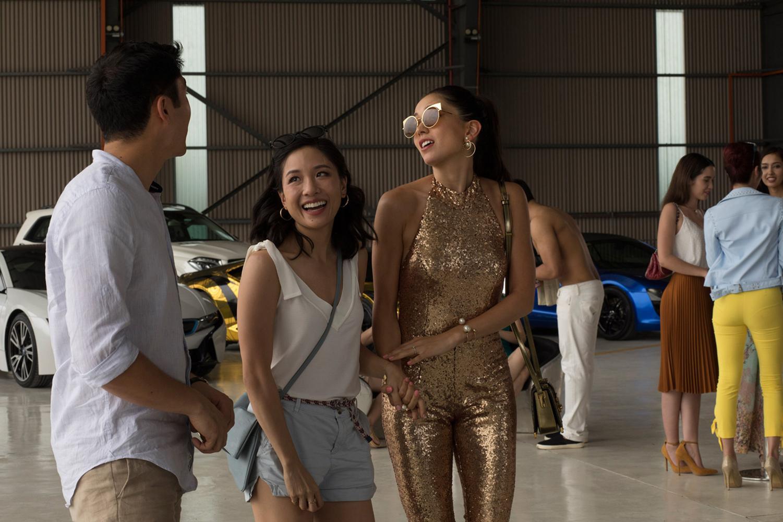 Constance Wu and Sonoya Mizuno in