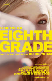 Bo Burnham's Eighth Grade Movie poster.