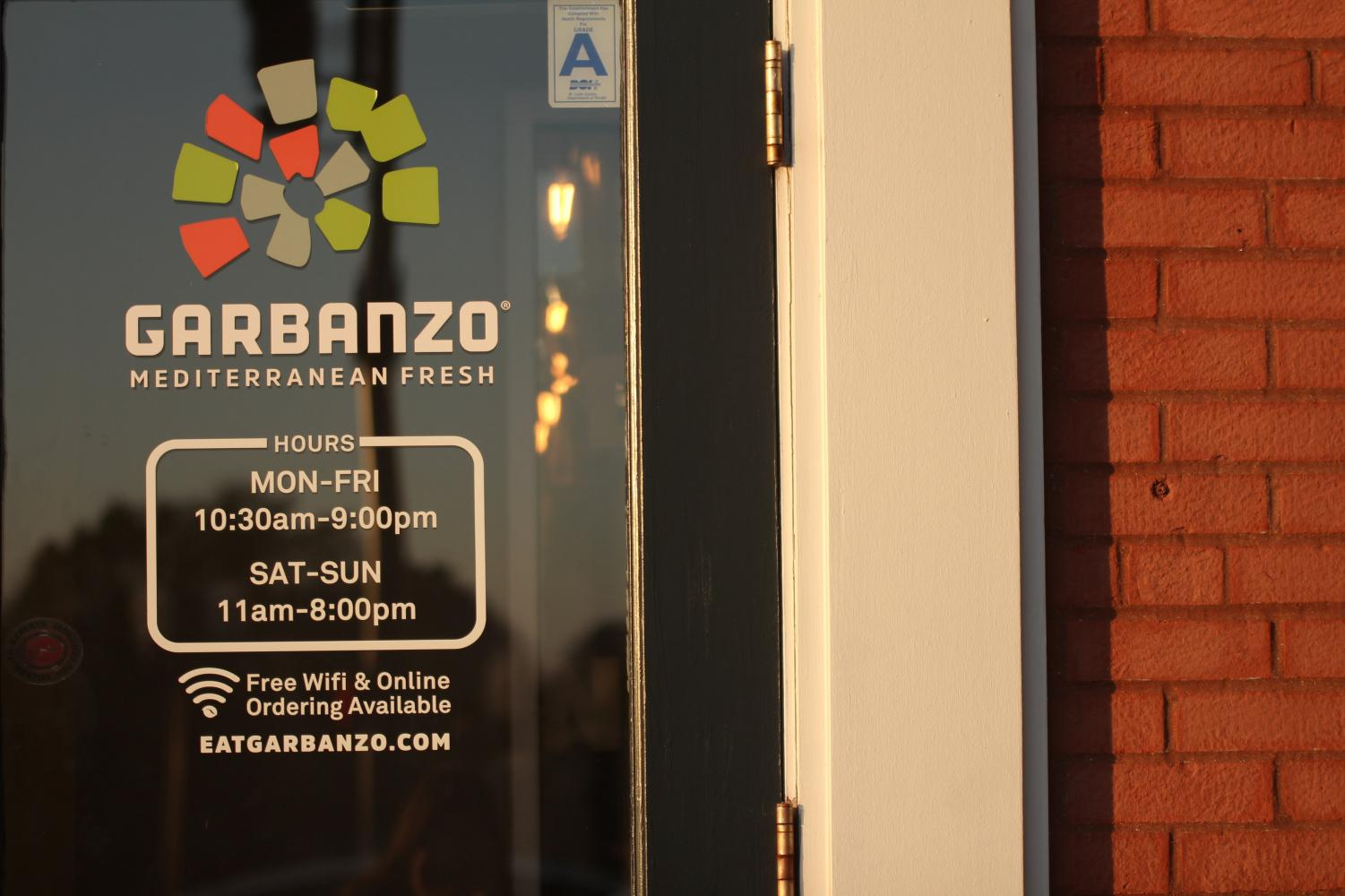 Garbanzo sits at the corner of Maryland & Forsyth in downtown Clayton.