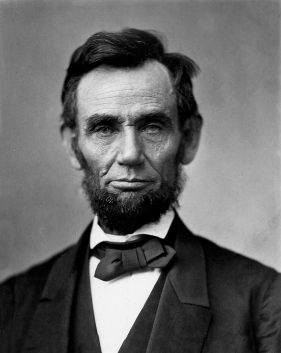 Famous introvert Abraham Lincoln. Photo from Wikimedia Commons.