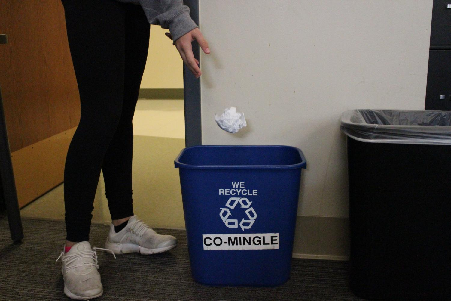 The U.S. produces around 200 million pounds of waste every year. The major of this waste is paper -- something that is very simple to recycle.
