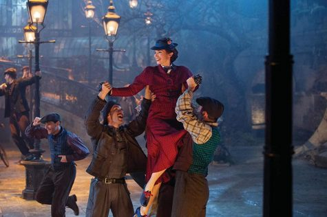 Emily Blunt stars as Mary Poppins in Mary Poppins Returns.