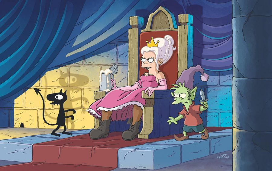 Disenchantment%2C+a+new+show+by+the+creator+of+the+Simpsons+and+Futurama%2C+is+now+available+for+streaming+on+Netflix.