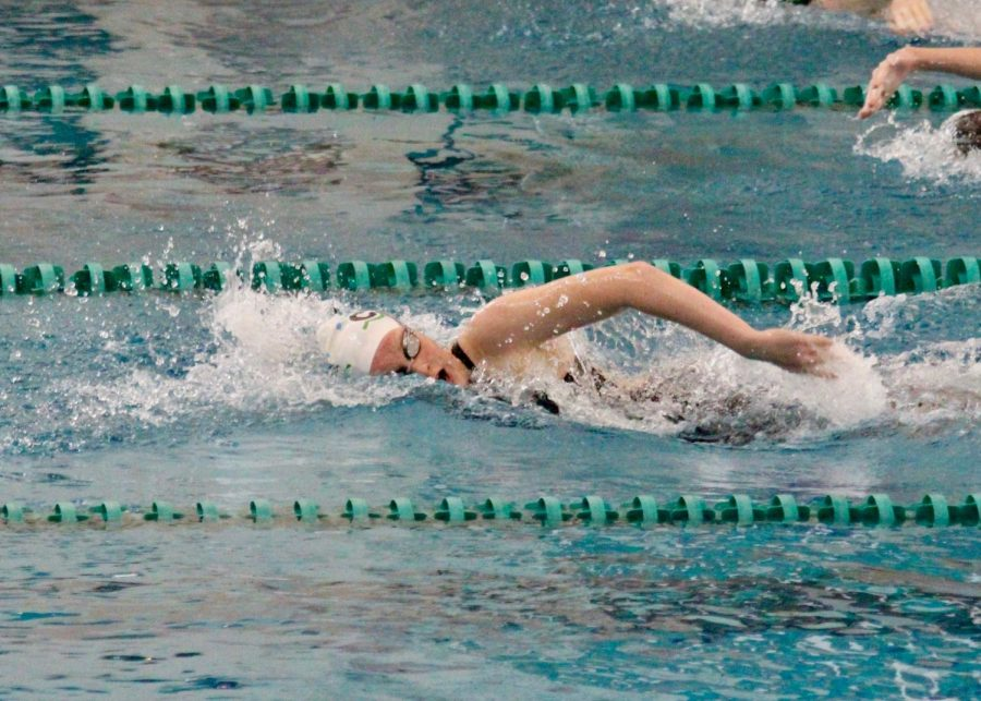BREAKING: Mottl Sets a School Record with Silver Medal at Swimming State Championships