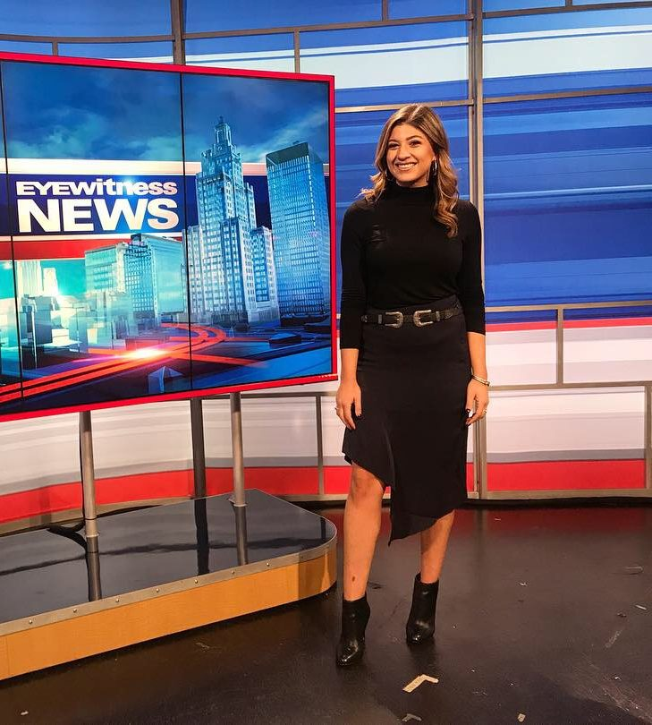 Ruthie Polinsky, Class of 2011, is currently a news anchor in the greater New England area.