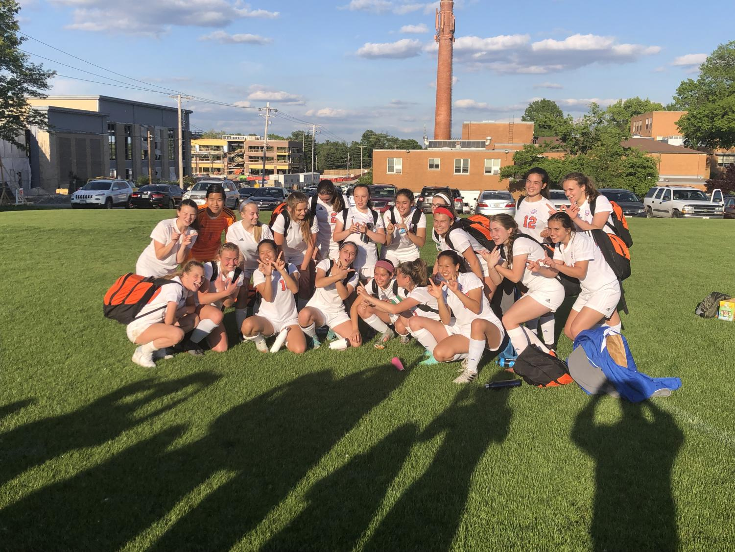 The CHS Girls' varsity soccer team beat Ladue in the Class 3 District 4 semifinal game on Monday.