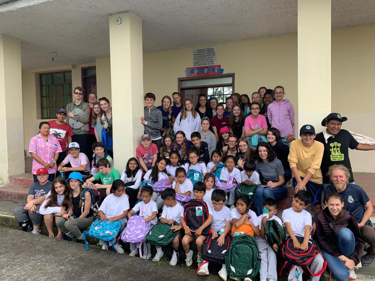 Clayton students completed a service trip this summer, interacting with kids and families in the village of Yunguilla in Ecuador.