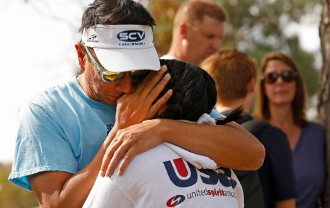 Father and daughter reunited after Saugus High School shooting in Santa Clarita, California