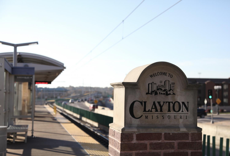 Clayton metro station.