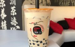 Milk tea with boba from Kung Fu Tea
